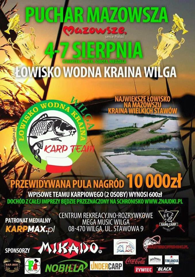 II miejsce, puchar mazowsza, wędkarstwo karpiowe, karpiarze.pl, kapiarze team