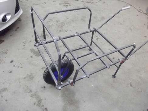 wózek transportowy na ryby