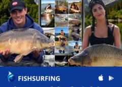 Wędkarska aplikacja Fishsurfing